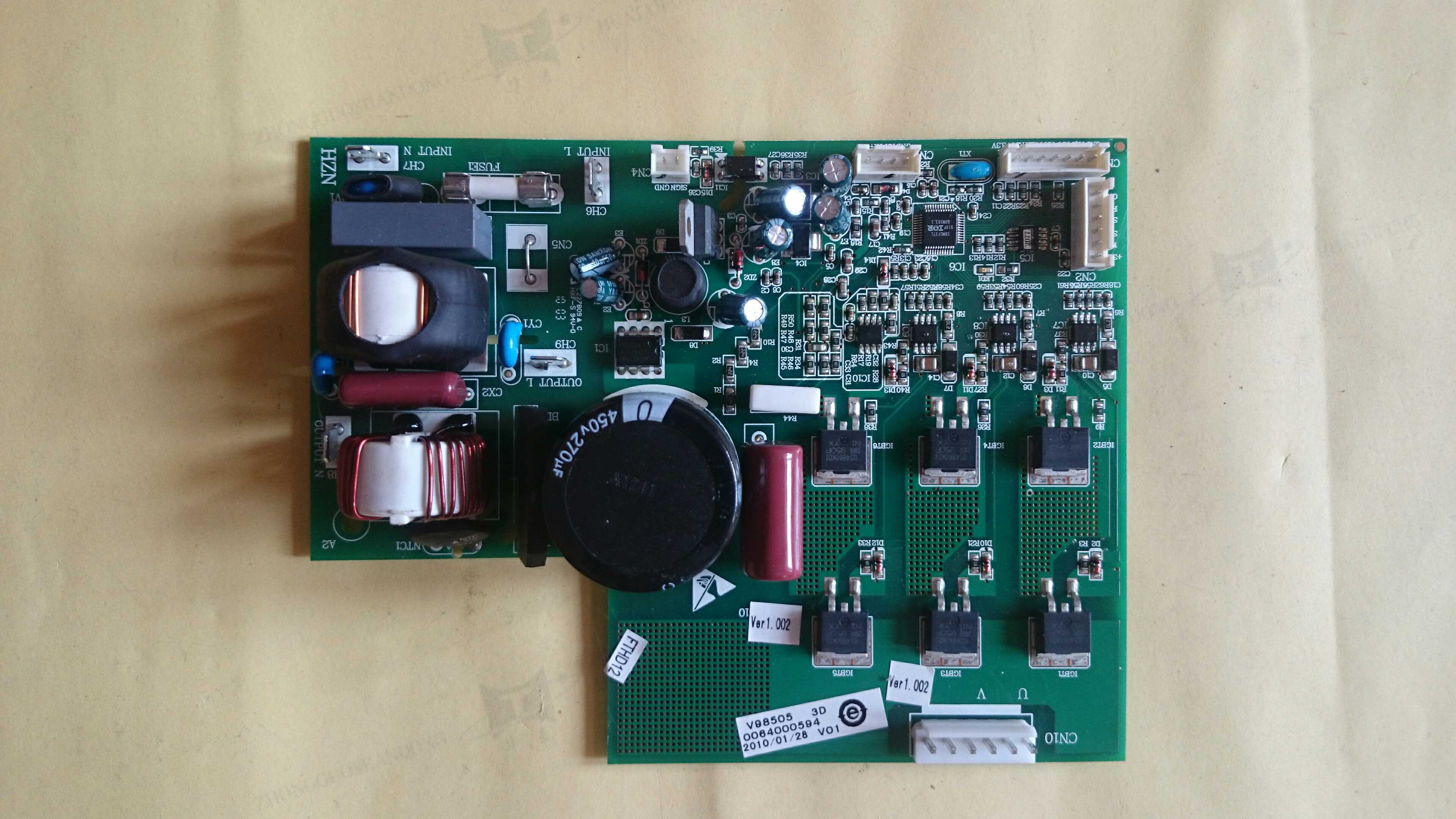 Haier refrigerator inverter frequency conversion board board 0064000594 original BCD-509WB, 568WDVC, 556WA etc. директ бокс dbx djdi