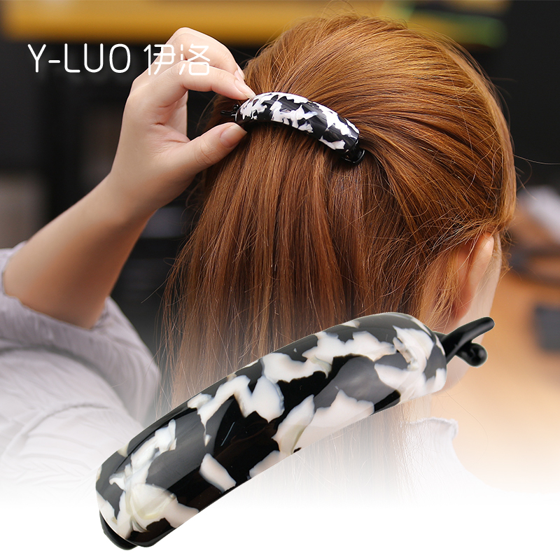 Women Hair Accessories 2016 New Office And Daily Use Thick Hair Fashion Hair Grip Large Banana Hair Clip For Girls