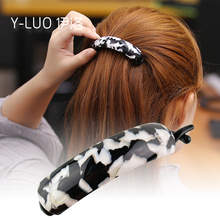 Women Hair Accessories 2016 New Office And Daily Use Large Banana Hair Clip For Thick Hair