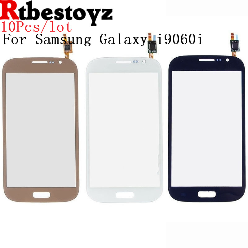 10Pcs/Lot Original tested Touch Glass Panel For Samsung Galaxy Grand Neo Plus i9060i i9060 touch Screen Digitizer Glass
