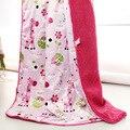 Детские одеяла 2016 новый сгущает двойной слой ватки младенческой bebe конверты пеленать wrap новорожденных детское постельное белье одеяло