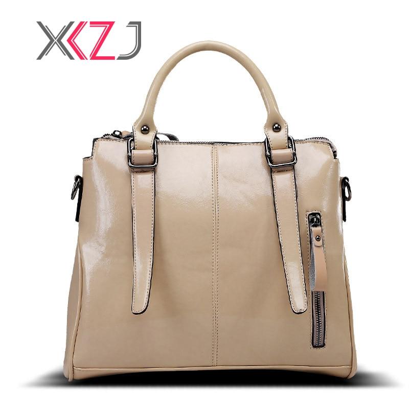 Кожа Для женщин сумки 2018 Новая мода Сумочка Черный Для женщин сумка Винтаж Сумка Офис верхняя Портфели