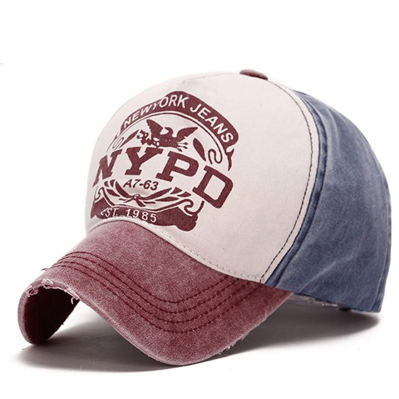 2018 ZMKF Nueva gorra de béisbol de la tapa de la marca wholsale - Accesorios para la ropa