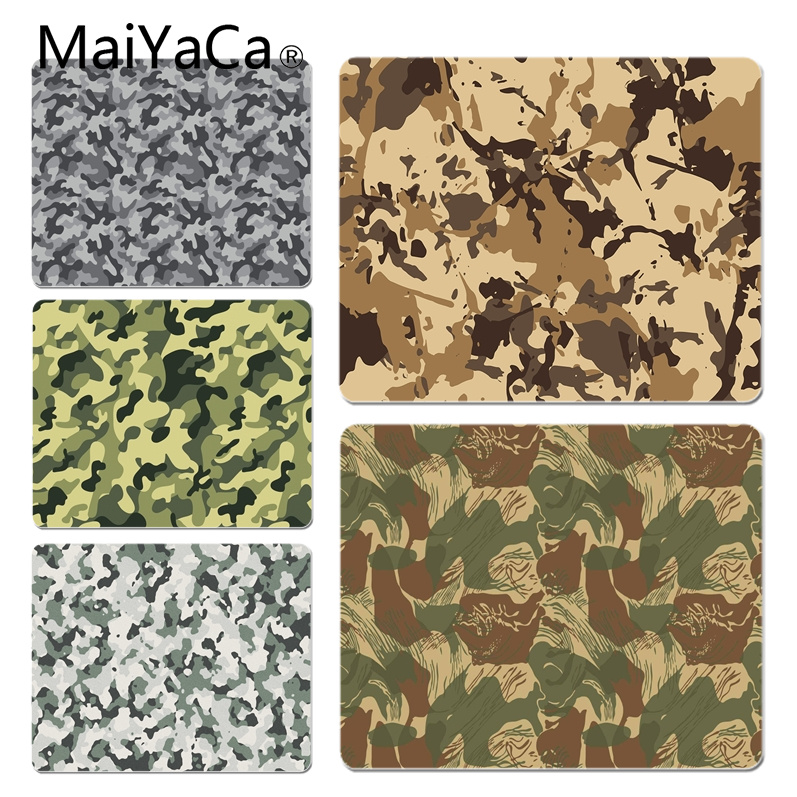 MaiYaCa Cool New Camouflage Pattern Customized laptop Gaming mouse pad Size for 180x220x2mm and 250x290x2mm Rubber Mousemats