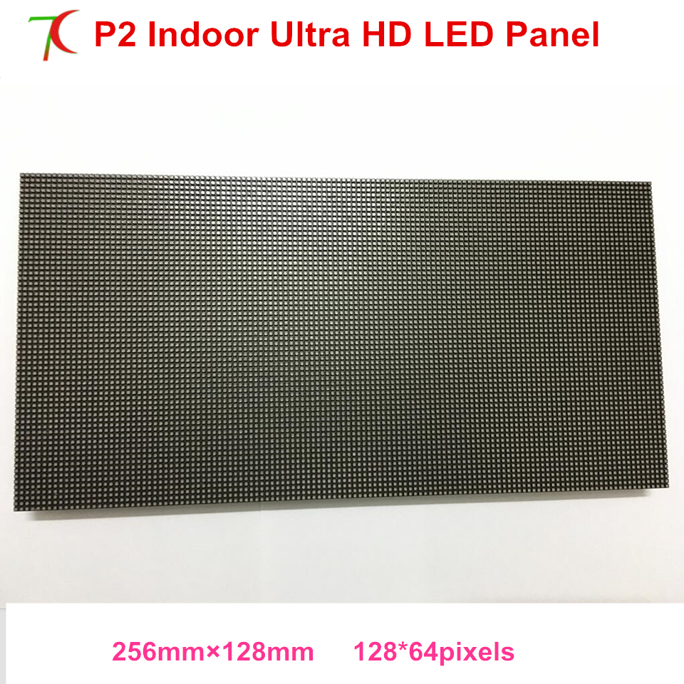 P2 Indoor 256*128mm Full Color Led Modules For High Definition Led Display,250.000dots/sqm