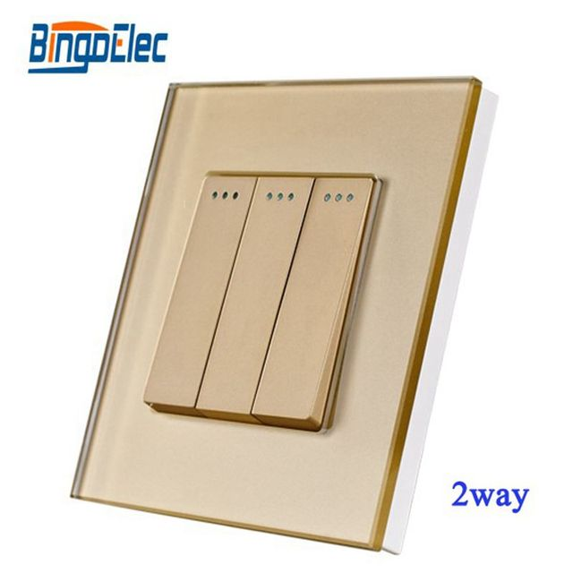 Home Improvement Electrical Equipment Supplies Gold Glass Frame