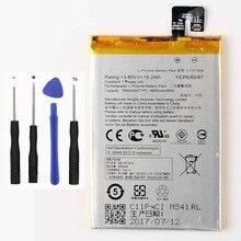 Original High Capacity C11P1508 Battery For ASUS Zenfone max 5000Z C550KL ZC550KL Z010AD Z010DD Z010D Z010DA 5000mAh аккумулятор для телефона ibatt c11p1508 для asus z010d z010da z010ad