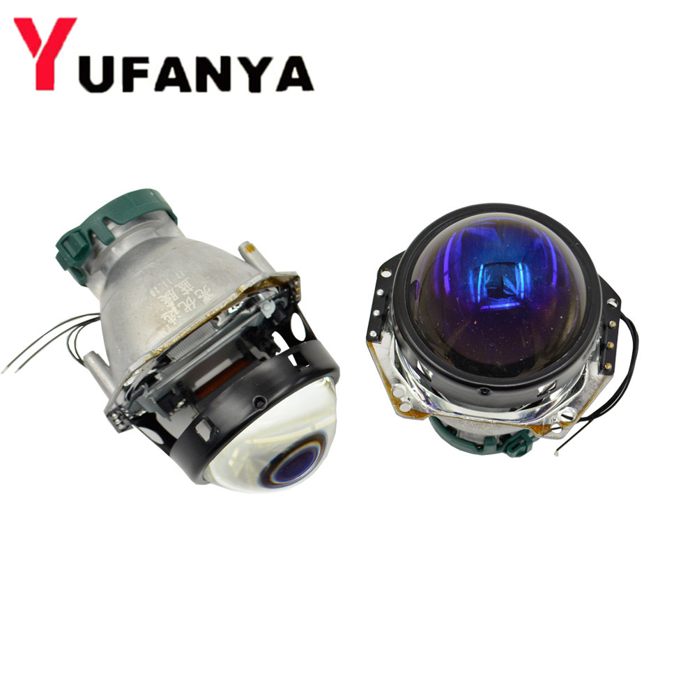 NEW VERSION HELLA 5 bixenon hid car projector lens with blue coating 3.0 inch car headlight metal holder D1S D2S D3S D4S 3 0 inch hella 5 car bixenon hid projector lens metal holder for d1s d2s d3s d4s hid xenon kit headlight car assembly headlight