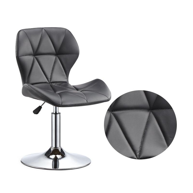 A 20%Bar Chair Lift Chair Modern Minimalist Home Rotating Bar Chair High Stool Front Desk Cash Register Chair Back Stool