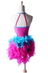 Image 3 - Sıcak Profesyonel Latin Dans Elbise Kostümleri Kadınlar Için Çocuklar Kırmızı Giyim Elbise Danse Latine Femme Balo Salonu Dans Etek