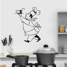 Sticker Gourmet Chef Home Vinyl Wall Decal Mural Art Kitchen Tile Wallpaper Decor House Poster LW16