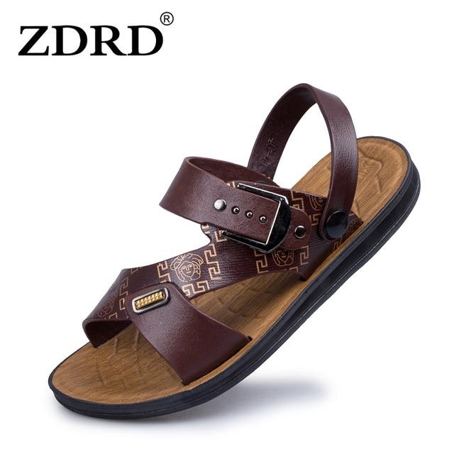 0f19a58ad948 ZDRD 2017 Summer Hot Sale Men Sandals Brand Quality Cheap Beach Men Slippers  Breathable Men Casual Sandals Men Flip Flops