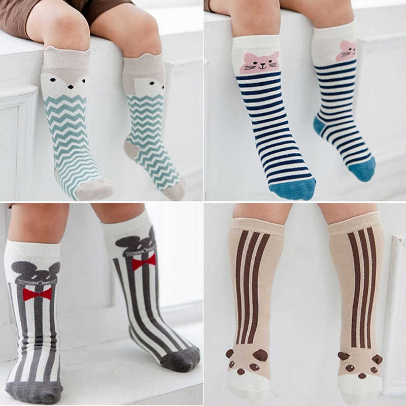 Children Kids Baby Boys and Girls Stockings Cotton Fashion Cute Cartoon Breathable Non-slip Baby Boys Girls Soft Stockings CS.81