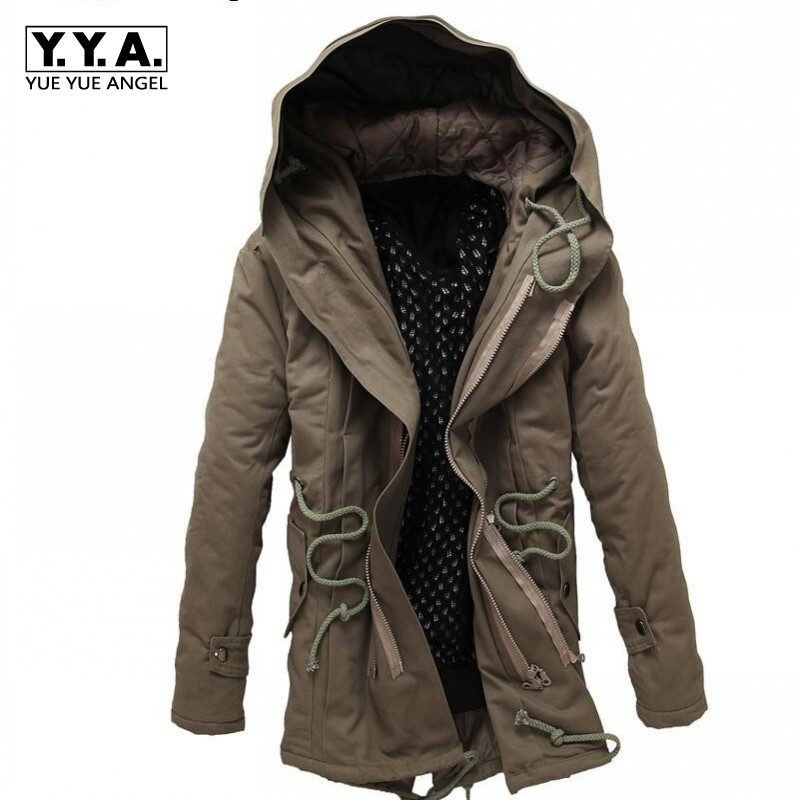 Top Brand New Fashion Mens Winter Jacket Canvas Cotton Warm long Outwear Hooded Coat parkas Plus Size M-4xl Free Shipping free shipping winter parkas men jacket new 2017 thick warm loose brand original male plus size m 5xl coats 80hfx