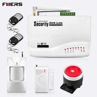 GSM сигнализация для дома охранная система с металлическим датчиком Удаленная дверь двойная антенна охранная сигнализация домашняя сигнали...