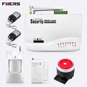 Image 1 - GSM Alarm System For Home Security System with Metal remote Door Sensor Dual Antenna Burglar Alarm Home Alarm System Signaling