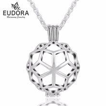 5 шт медальон eudora в форме сердца плавающая клетка подвеска