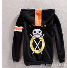Hot One Piece Trafalgar Law luffy Cosplay Clothes Costume Hoodie coat jacket