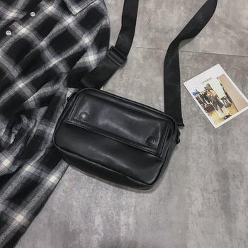 Messenger Bag Fashion Solid Color Girl Small Square Bag Simple Shoulder Bag 6