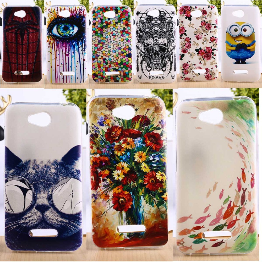 Taoyunxi Tpu Plastic Phone Cover For Htc Desire 616 D616w Cases Samsung Q430 Dc Jack Power Port Socket Connector Wire Harness Cable Colorful Deluxe Vintage Elegant Mobile Parts