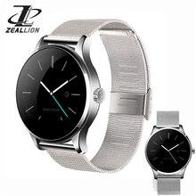 Zeket montre intelligente K88H horloge synchronisation notificateur soutien coeur Bluetooth 4.0 connectivité podomètre pour Android iOS Smartwatch