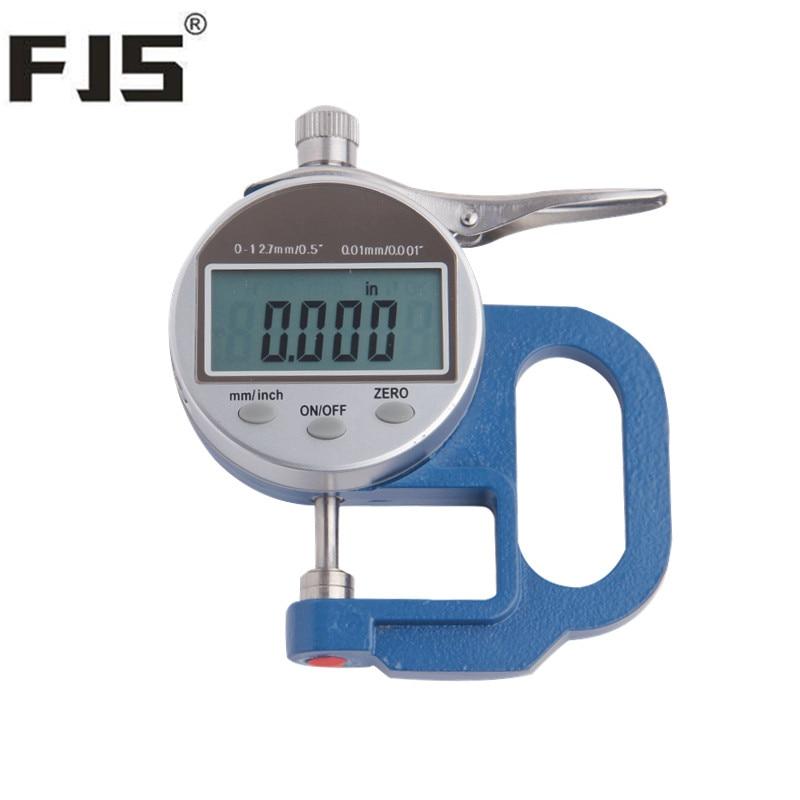 Fjs 0 12.7 0.01mm Dial Thickness Gauge Digital