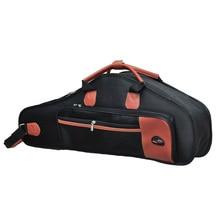 1680D водостойкая сумка из ткани Оксфорд с хлопковой подкладкой из улучшенной ткани саксофон мягкий чехол регулируемый плечевой ремень для саксофона альт