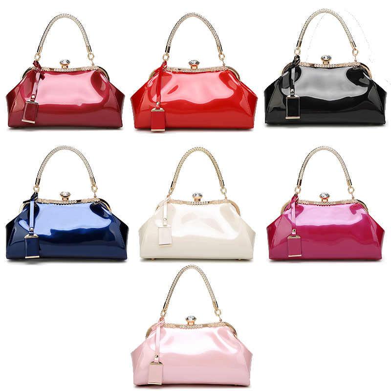 ZENBEFE/Прямая доставка; вечерние сумки из лакированной кожи; женские сумки; модные женские сумки на плечо; женские сумки для свадебной вечеринки