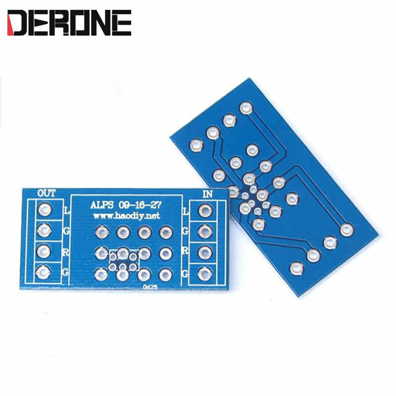 potentiometer PCB for amplifier PCB for ALPS  9 type 16 type 27 type