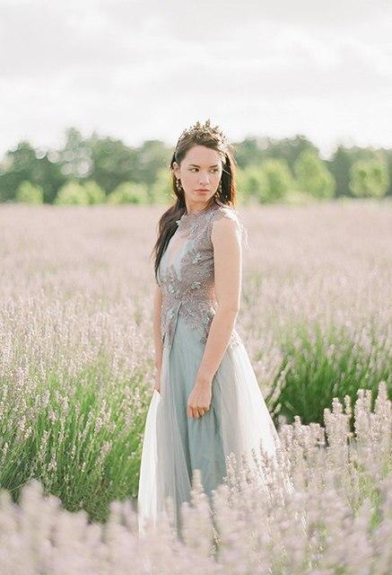 Hochzeitskleid Eine linie 2017 Appliques alternative Braut Bohemian ...