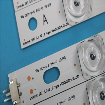 "825mm LED Backlight Lamp strip 8 leds For LG INNOTEK DRT 3.0 42""_A/B TYPE REV01 REV7 131202 42 inch LCD Monitor 1set 1"