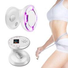 RF Ultraschall Kavitation Körper Abnehmen Massage Maschine LED Photon Ultraschall Therapie Fett Brenner Gesicht Heben Hautstraffung