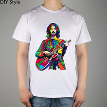 Eric Clapton Slowhand Gitarrist Yardbirds Creme Blues T-shirt Top Lycra Baumwolle Männer t-shirt New