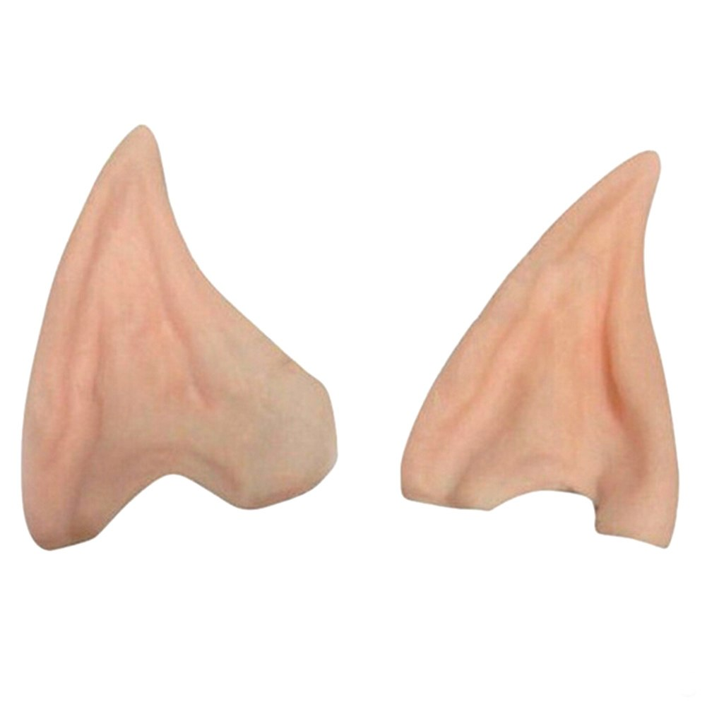 Halloween Party Accessories Latex Soft Pointed Prosthetic Wizard Elf Fairy Hobbi