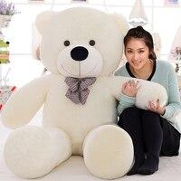 220 см большой teddy bear Гигантский Большой Плюшевые игрушки прекрасной жизни, размер мишки мягкие детские мягкие peluches Рождественский подарок