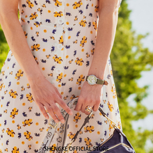 Shengke montre bracelet à Quartz pour femmes, nouvelle mode, cadran vert, Slim bracelet en cuir, Design Simple, boîtier Ultra fin, Zegarek Damski