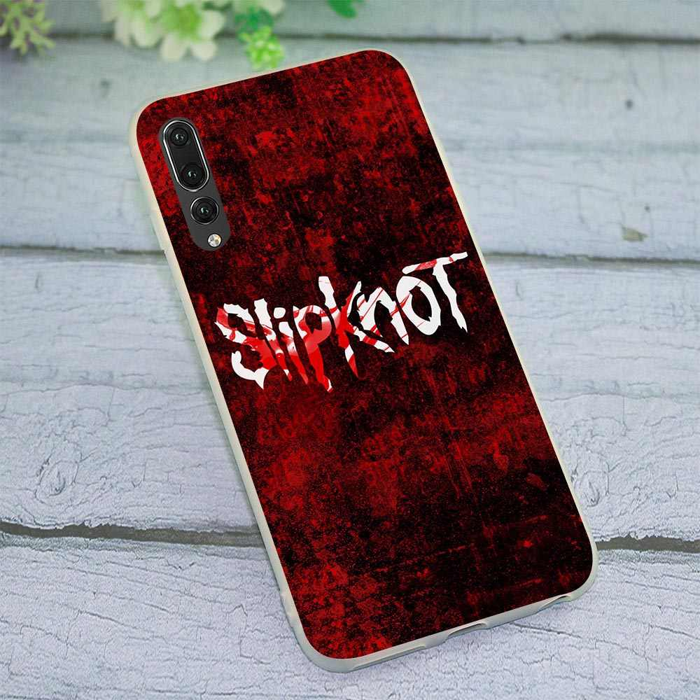 Мягкий силиконовый чехол из ТПУ для huawei Honor 7A Pro Slipknot Phone Cover для 7X8 Lite 8C 7C 10 Note 9 Y6 2018 Y7 Y9 Nove 3 3i 6A