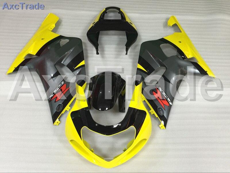 Комплекты мотоцикл Обтекатели для Suzuki GSXR системы GSX-Р 600 750 GSXR600 GSXR750 2001 2002 2003 К1 пластичной Впрыски ABS обтекатель комплект A752
