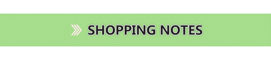 Shopping Notes1