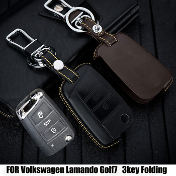 Soft Leather key fob protect cover case skin for VW Polo 2016 golf 7 MK7 for Skoda Octavia combi A7 for SEAT Leon Ibiza CUPTRA iPhone XS