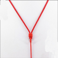 2016 New Brand DSF Jewelry Chinese Wind Style Red Rope Cords With Handmade Chinese Knit 3