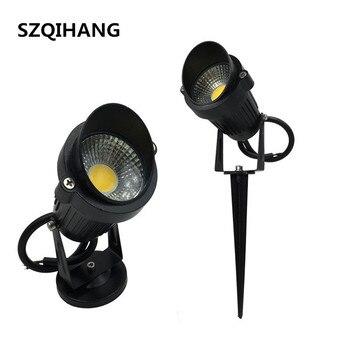 цена на COB 10W Outdoor Garden Light LED Lawn lamp Waterproof LED Flood Spot Light Warm Cool White Led Spike Lawm Light DC12V/AC85-265V
