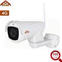 Stardot Full HD 1080P Bullet IP Camera Wireless 10X Zoom iPhone Android GSM 4G SIM Card IP Camera Wifi Outdoor Waterproof Camera
