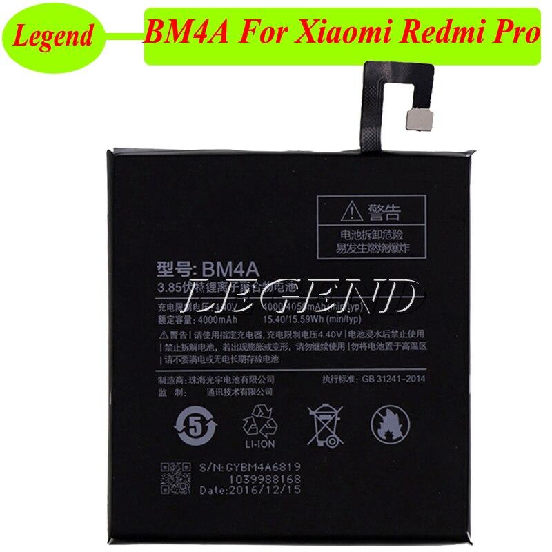 Accumulator Bm4a-Battery Xiaomi Redmi 4050mah Ce For Bateria AKKU Hongmi Redrice-Pro