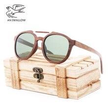 New Classic Trend Wooden Sunglasses Elliptical Frame Fashionable Gentlemen's and Women's Sunglasses TAC Lens UV400 Glasses f225 fashionable zinc alloy frame resin lens uv400 protection sunglasses silver