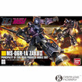 OHS Bandai HGUC 151 1/144 MS-06R-1A Zaku II Black Tristars Mobile Suit Assembly Model Kits