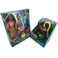 Hot Moana Action Toy Figures Maui Chick Heihei Spotted Pig Action Figures Toy Model Doll For