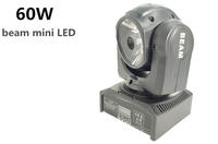 60W 4in1 RGBW Spot Moving Head Light LED DMX Stage beam light/ dj controller
