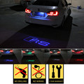 1pcs CANBUS Car LED License Plate Light 12V LED Logo projection Laser Number Plate Lamp For Audi A3 A4 A6 A7 S5 S6 S7 Q5 Q3 TTS