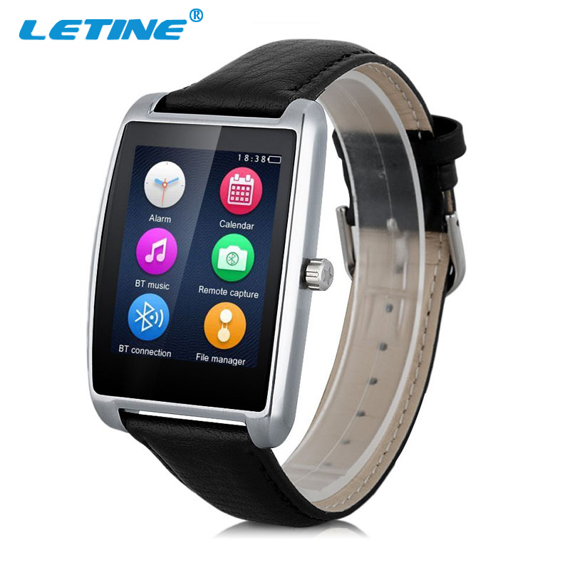 2017 LETINE Men Watch L11 Smart Watch BT4.0 1.61inch Curved IPS Touch Screen Pedometer with Sleep Monitor Heart Rate Monitor u80 smart watch with pedometer function